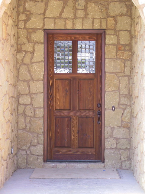 Rustic Doors Traditional Front Doors Austin By