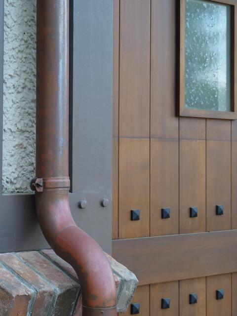 Hillsborough Tudor Home traditional