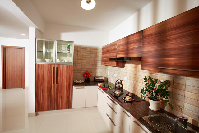 Parallel Modular Kitchen Designs India Kitchen Category