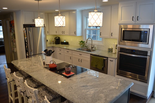 White Silver Granite Countertop : Silver cloud Granite Slabs