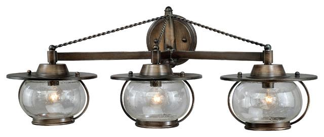 Jamestown Parisian Bronze 3 Light Vanity traditional-bathroom-lighting-and-vanity-lighting