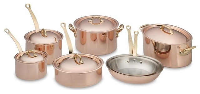 Mauviel Copper 12 Piece Cookware Set Cookware Sets