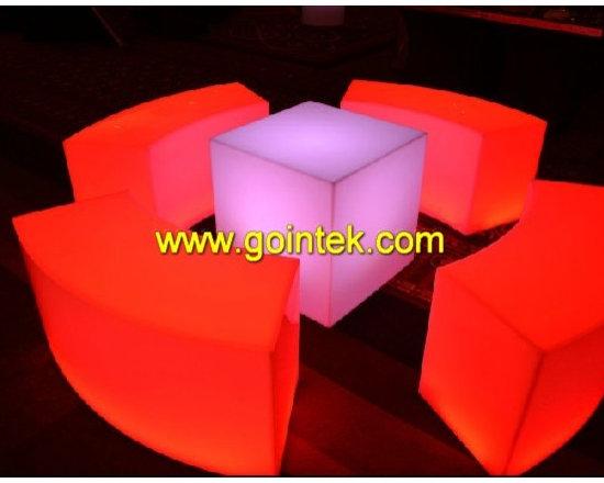 led light sofa for event decoration -