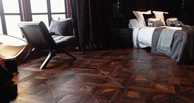 Porcelanosa roble ebano luxor herringbone parquet flooring - Parquet color roble ...