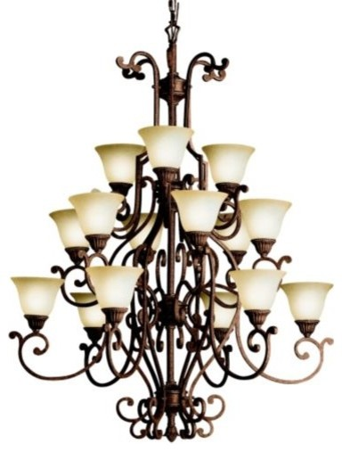 Larissa 3-Tier Chandelier traditional chandeliers