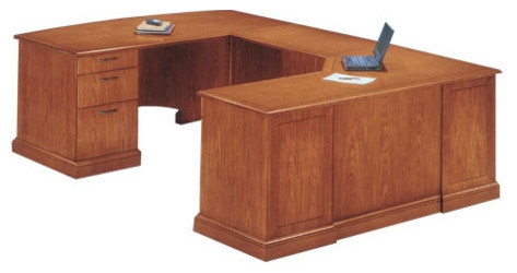 Belmont Corner Executive U-Shape Desk with Right Return modern-home-office-products