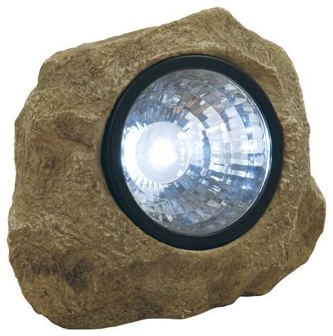 1 Light Garden Accent Rock Spotlight modern-lighting