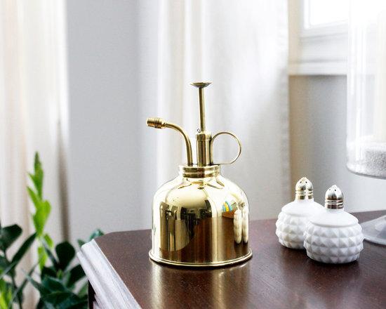 Vintage Decor Accessories - AM Dolce Vita, Vintage Brass Plant Mister