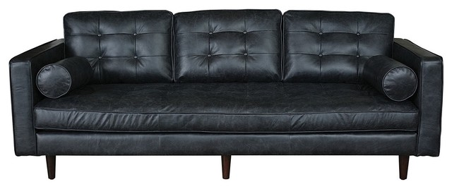 Maxwell Leather Sofa contemporary-sofas