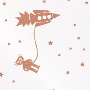 Astrobots Wallpaper eclectic-wallpaper