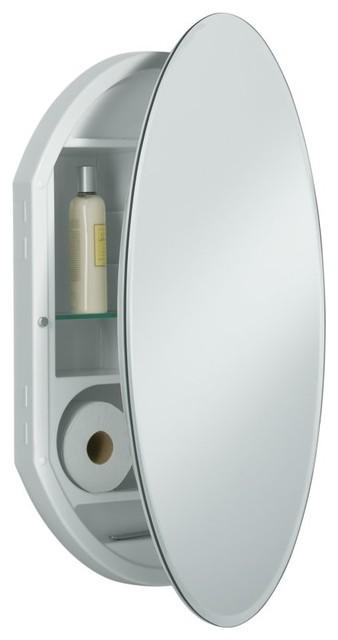 KOHLER K-CB-CLR2031OW Plastic Single-Door Medicine Cabinet contemporary-bath-products