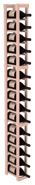 1 Column Magnum/Champagne Cellar Kit in Redwood, White Wash contemporary-wine-racks