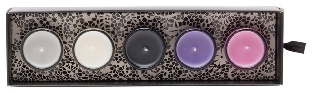 Luscious 5 Mini Votive Gift Set contemporary-candles-and-candleholders