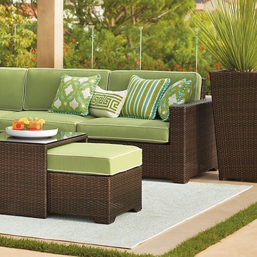 Sea Breeze Outdoor Rug Traditional Doormats by FRONTGATE