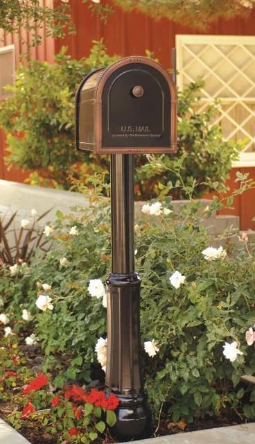 Avalon Post Mount mailboxes