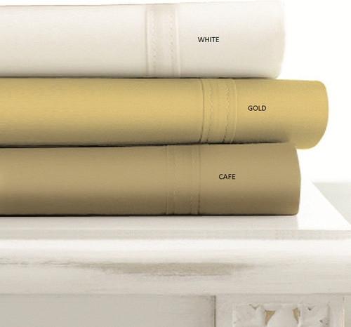 Egyptian Cotton 500 Thread Count Extra Deep Pocket 6 Piece Sheet Set modern-sheets