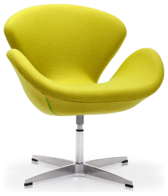 Pori Arm Chair Pistachio Green Contemporary Armchairs And Accent Chairs