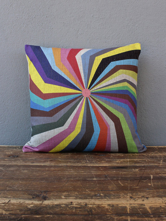pretty spiral pillow - view this item on our website for more information + purchasing availability: http://redinfred.com/shop/category/detail/throw-pillows/pretty-spiral-pillow/