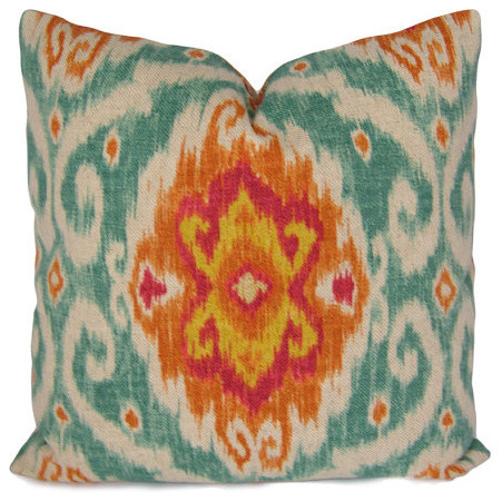 Ikat Pillow Cover By Stitched Nestings - eclectic - pillows - by Etsy