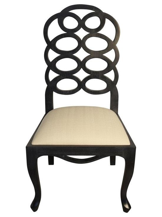 Frances Elkins Style Loop Dining Chair -