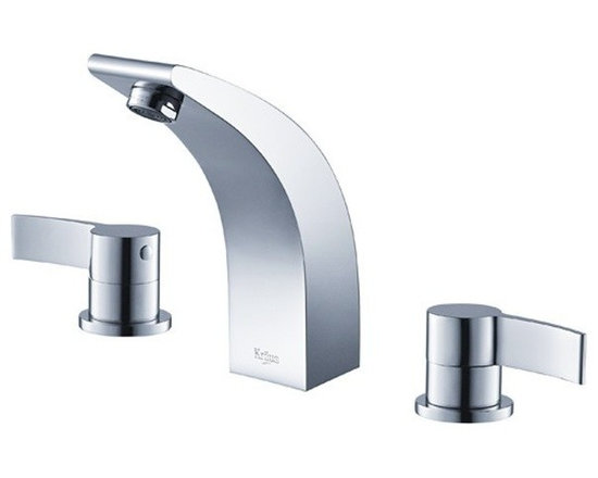 Kraus Illusio Double Handle Widespread Faucet Chrome KEF-14703CH - Perfection, precision and style may seem as an Illusion in real life. At Kraus, Illusion may just be your reality