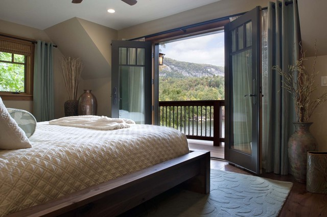 Living Stone Construction, Inc. contemporary bedroom