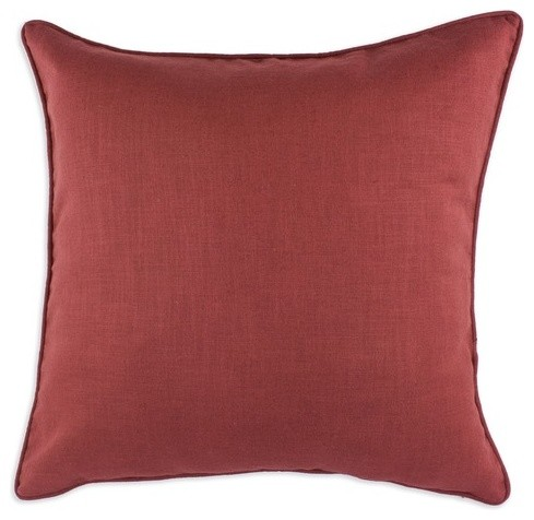 Circa Solid Lava Corded Fiber Pillow modern-decorative-pillows