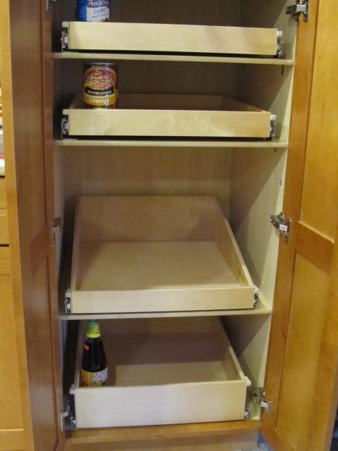 Pantry Roll Out Shelves Portland By Shelfgenie Of Portland