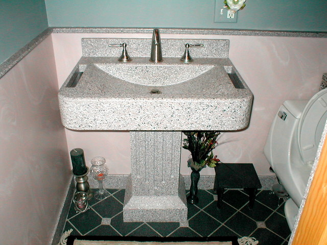 Solid Surface bathroom-vanities-and-sink-consoles