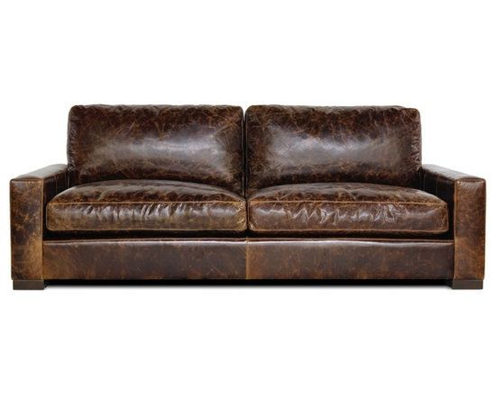 Maxamilian Sofa - Clean, modern lines and deep down comfort make our Maxamilian sofa perfect for lounging after a long day.