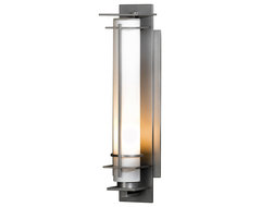 Hubbardton Forge 307858 After Hours Outdoor Wall Sconce craftsman-outdoor-lighting