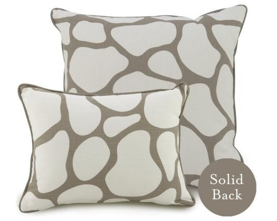 Oilo Taupe Cobblestone Pillow - Oilo Taupe Cobblestone Pillow