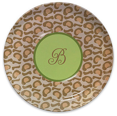 Leopard Melamine Plate eclectic-dinner-plates