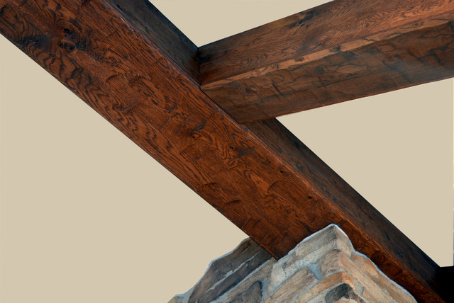 Wooden Beams Hardwood Flooring Chicago By Signature