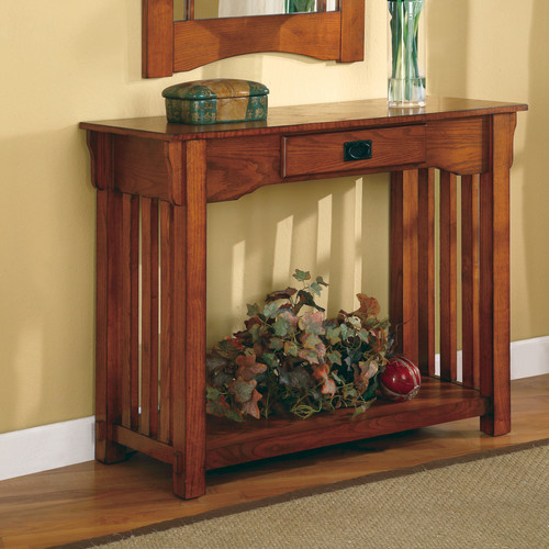 Burien console table and mirror set modern side tables - Modern console table with mirror ...