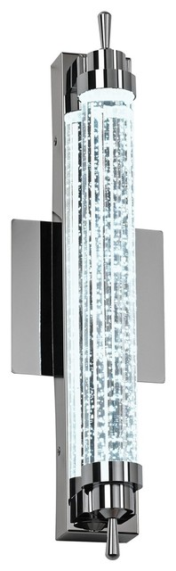 "Speckled Glass ADA Compliant 16 1/2"" Wide LED Sconce contemporary-bathroom-vanity-lighting"