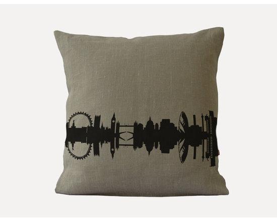 Linen City Cushion London -