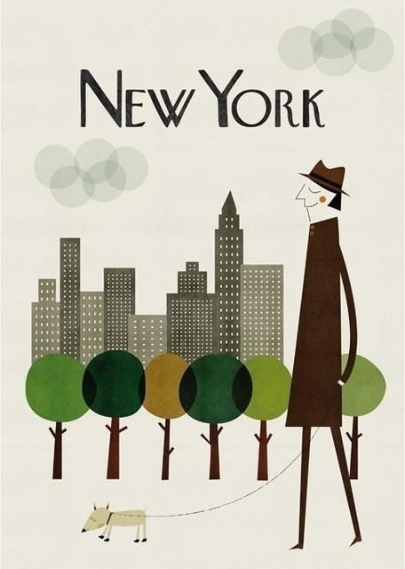 New York Big Print by Cosas Mínimas modern-artwork