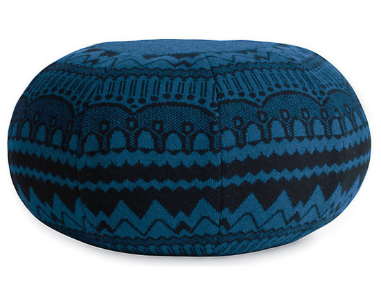 Ernest Pouf - If you want to go the designer route, this piece by Donna Wilson is a collector's item.