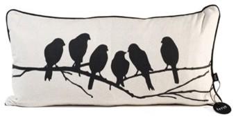 Love Birds Pillow by Ferm Living eclectic-decorative-pillows