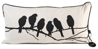 Love Birds Pillow by Ferm Living eclectic pillows
