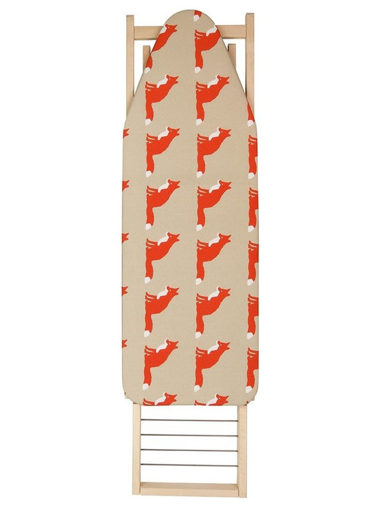Anorak Proud Fox Ironing Board Cover -