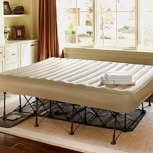 Portable Inflatable EZ Bed with Constant Comfort Pump - Queen traditional-beds