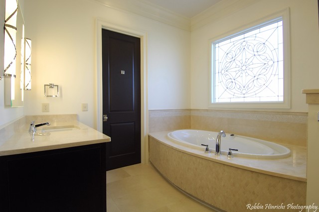 Custom Home in Woodcreek Farms traditional-bathroom