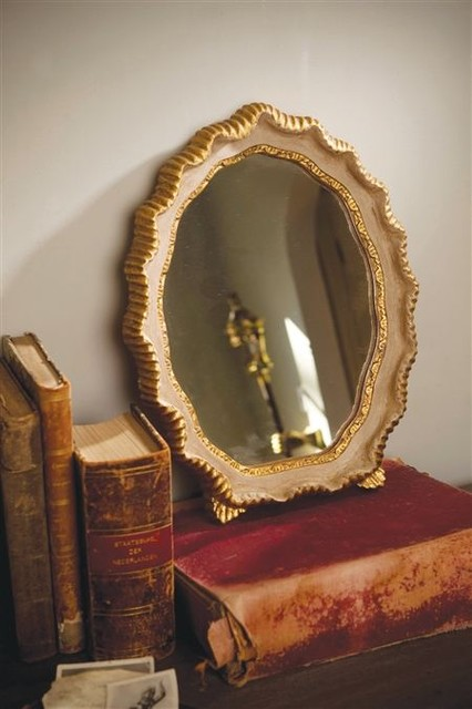 Venetian Gold Leaf Mirror eclectic-mirrors