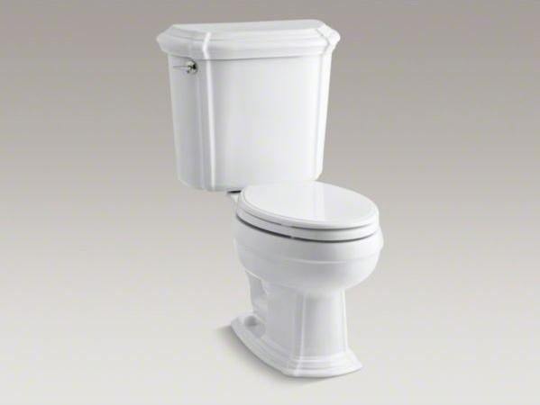 Kohler Portrait R Two Piece Elongated 1 6 Gpf Toilet With