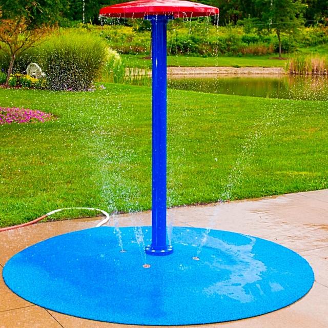 Portable Splash Pad for your backyard - Traditional ...