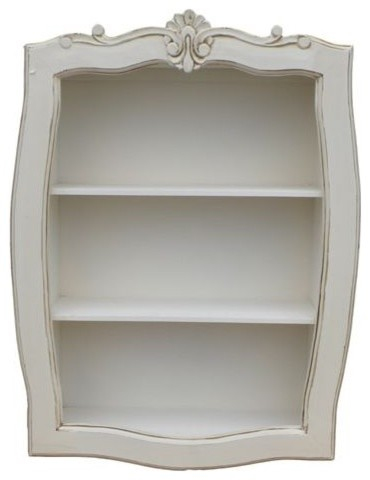 Loire Antique French Display Shelf - Traditional - Display And Wall Shelves - by Homes Direct 365