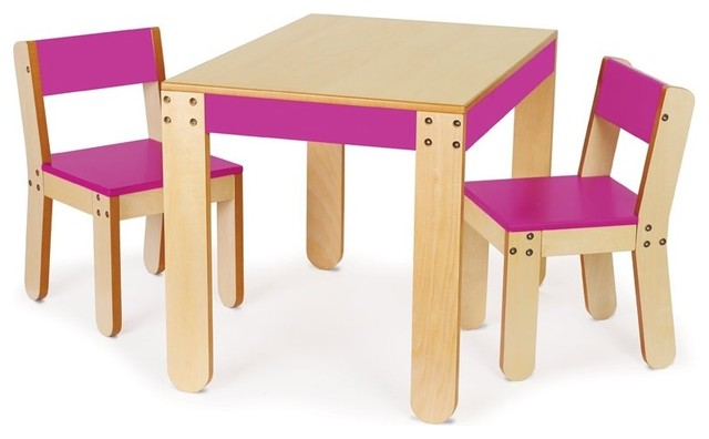 P kolino Little e s Table & Chair Set Modern Kids