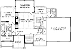 House Plan 97044 at FamilyHomePlans.com